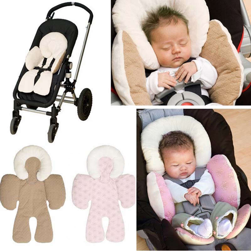 Reversible Baby Body Support Compliance To Use in Car Seat Stroller Body Support Cushions Head Pillows(China (Mainland))