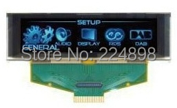 2.8 inch 30PIN SPI Blue OLED Screen SSD1322 Drive IC 8Bit Parallel Interface 256*64(China (Mainland))