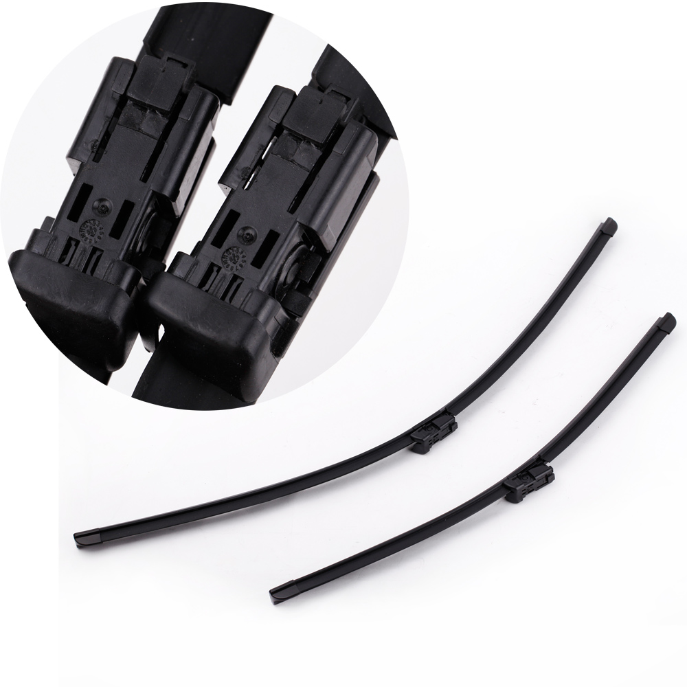 """2PCS 26""""+20"""" Windshield Car Rubber Wiper Blade Auto Windshield Prices Bracketless Rubber Arm Blade for VOLVO C30 V50 S80 XC70(China (Mainland))"""