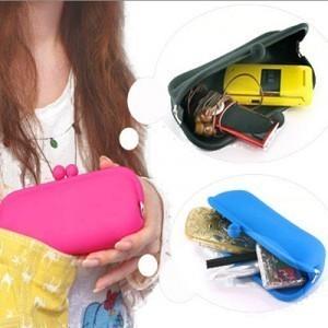 Golbal free shipping: 2012 spring silica gel purse cosmetic bag pouch mobile phone bag silica gel bags clutch