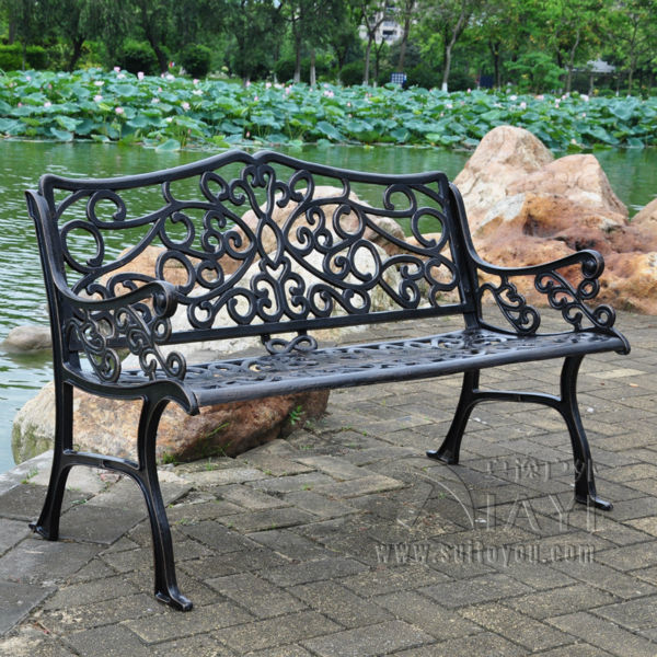 banco de jardim antigo:Cast Aluminum Outdoor Furniture Benches