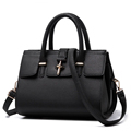 New Ladies Bags Women PU Leather Simple Shoulder Messenger Bag Lady Handbag fashion handbag female