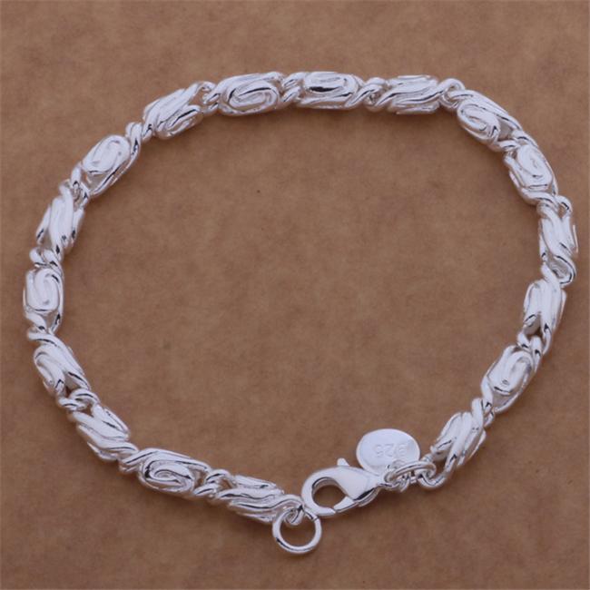 AH149 Wholesale silver plated bracelet,Free shipping silver fashion jewelry well made /airaizya bihajzoa(China (Mainland))