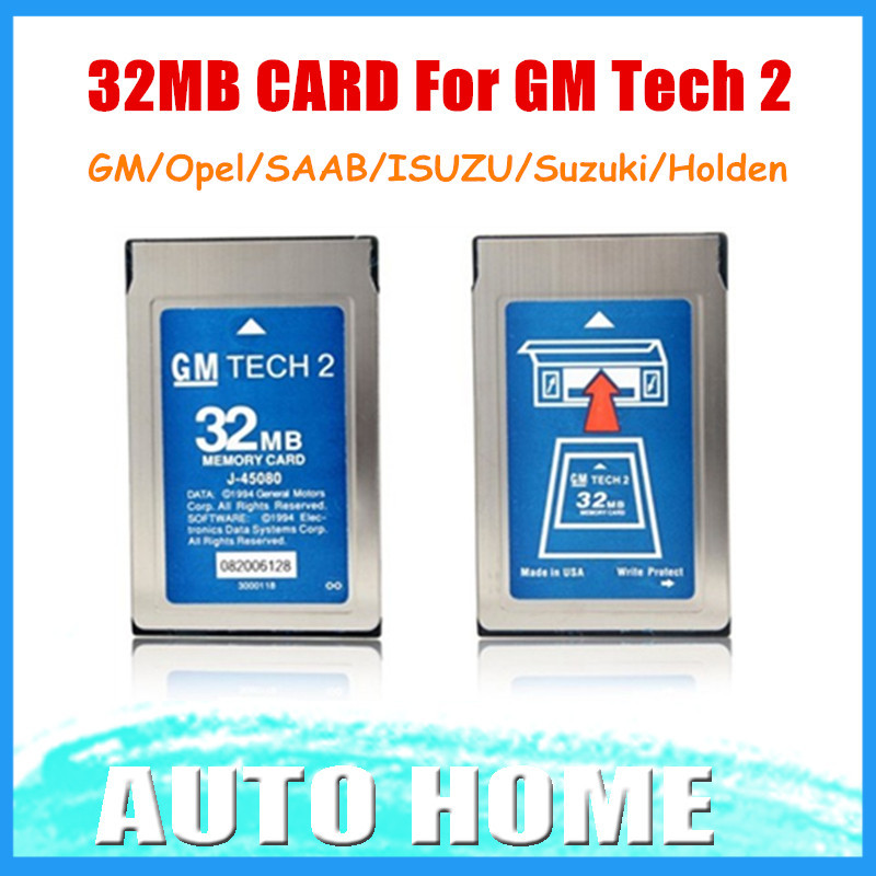 Good quality free shipping 2015 newest 32mb card for gm for Gm business card login