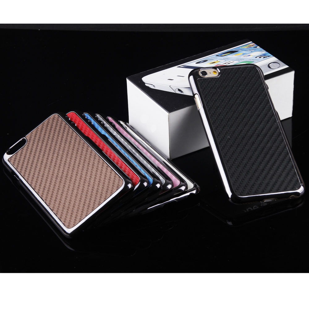 "For Apple iPhone 6+Plus 5.5"" Luxury Leather Back Case Cover Skin in PP Bag Package Woven pattern PU cell phone protection shell(China (Mainland))"