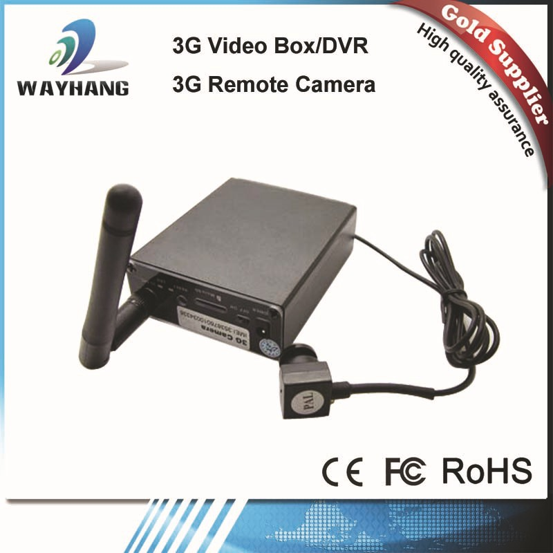 WCDMA 3G Video Call Recorder Box Support AV in 3G Remote Video TF Card Cameras Live Time 3G Video Box Car Home Security(China (Mainland))