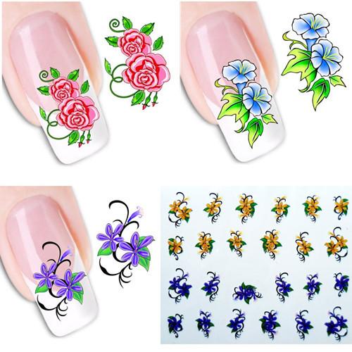 Наклейки для ногтей Leslie's store 50 DIY xf1101/1150 XF1101-1150 кисточка для ногтей yifu store 1 2ways diy nao10