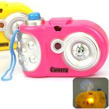Детские Дети Проекции Камеры Игрушки Fun Светодиодные Проекция Животное Рисунок Образовательные Учебные Игрушки для Детей Случайный Цвет(China (Mainland))