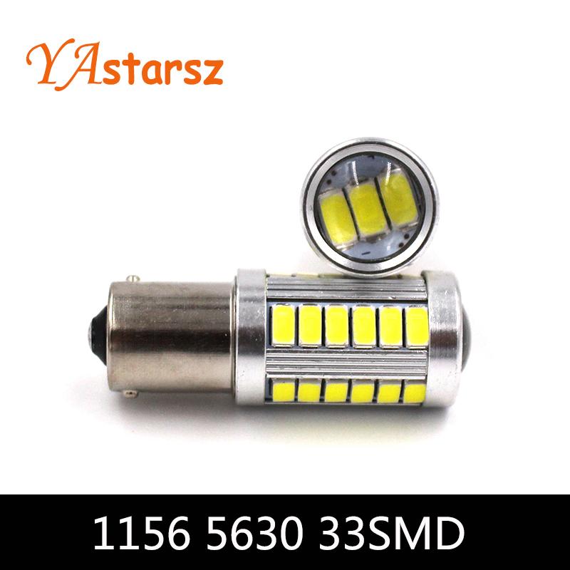 1156 P21W BA15S 33 LED 5630 5730 auto brake lights fog lamp reverse light car daytime running light white red yellow amber blue(China (Mainland))