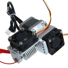 GT9 Short Distance geeetech 3d printer extruder j-head nozzle 0.3/0.35/0.4/0.5mm  for 1.75/3mm PLA/ABS filament free shipping
