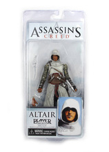 20pcs/lot EMS Genuine NECA 19cm Assassin's Creed 1 Altair Player PVC Action Toys Figure For Christmas Gifts