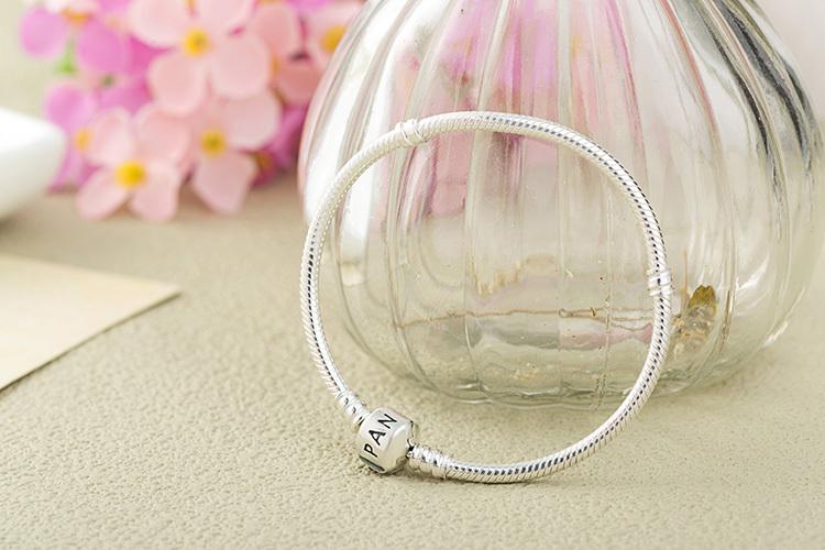 WHOLESALE Baby 925 silver bracelet,silver snake chain Fit Pandora Bracelets for women,charm bracelets bangles fashion jewelry(China (Mainland))