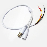 Power Video Cable 60cm BNC & DC Connector to Stripped Wire cctv end cable with Terminals for PCB Board CCTV Camera