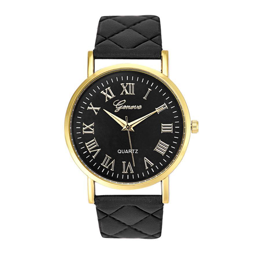 Гаджет  Attractive Fashion Women Colorful Fashion New Faux Leather Analog Quartz Wrist Watch Free shipping OT9 None Часы