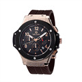 MEGIR Male Date Chronograph Watches Men Silicone Strap Big Face Waterproof Sport Watch Casual Army Military