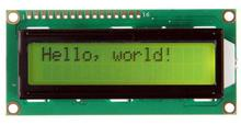 1pcs LCD1602 LCD 1602 yellow screen with backlight LCD display 1602A-5v 16x2 Characters HD44780 display for Arduino(China (Mainland))