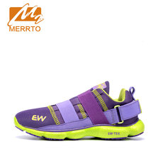 MERRTO Breathable Running Shoes For Women Ultra Light Free Run Cushioning Anti-Microbial Running Shoes 2 Colors #18563-C1