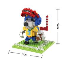 BOB 9545 Japanese Anime Series Snoopie Gridder Educational Diamond Bricks Minifigures Building Block Toys Gift