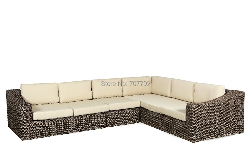 Popular wicker sofa set buy cheap wicker sofa set lots for Cheap modern furniture singapore