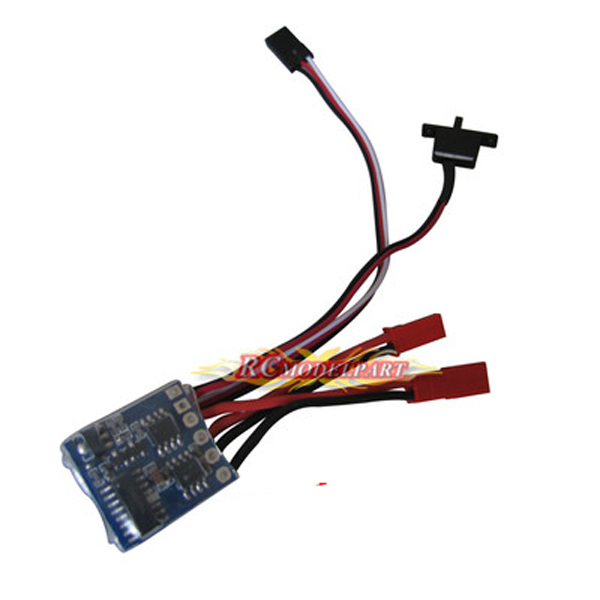 F05428 10A Brushed ESC Two-Way Motor Speed Controller With Brake For 1/16 1/18 1/24 RC Car Boat Tank(China (Mainland))