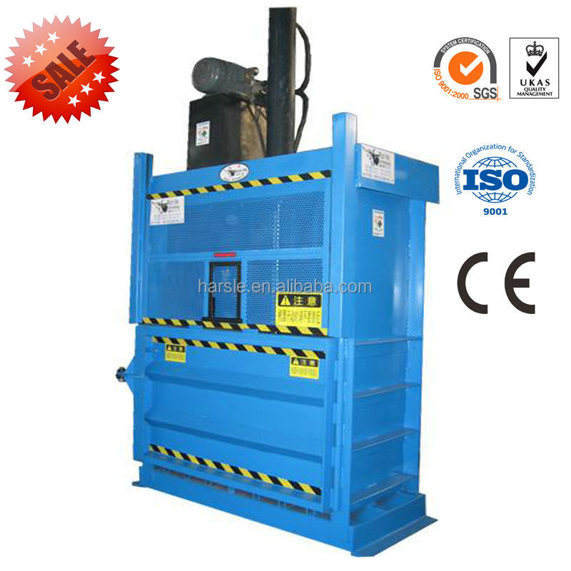 hot sale vertical baler paper hay recycling machine(China (Mainland))