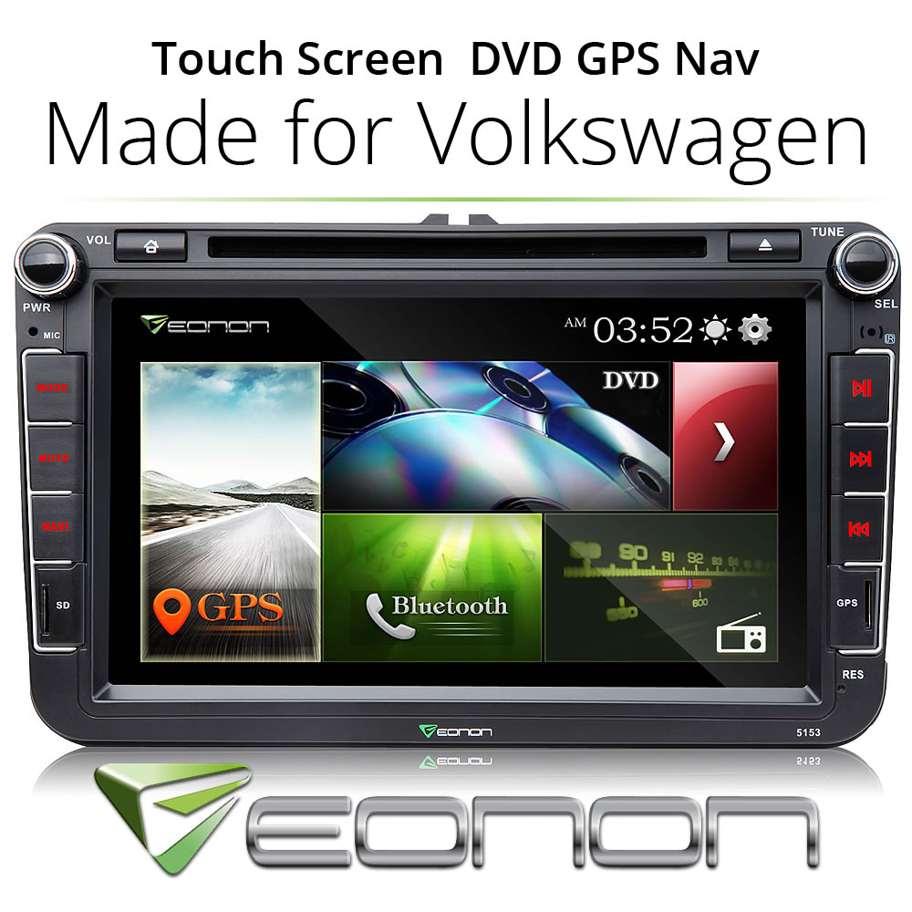 """8"""" Car DVD Player GPS Navigation Touch Screen For VW Volkswagen Passat Stereo Radio(China (Mainland))"""