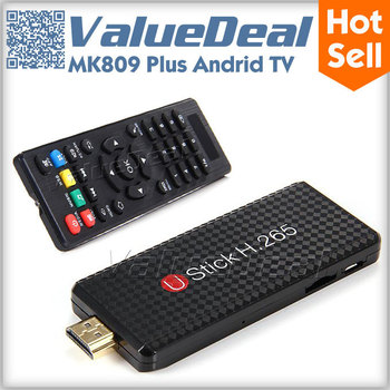 UStick MK809 Plus Amlogic M805 Quad Core Android 4.4 TV Dongle Smart TV Stick Media Player 1G RAM 8G ROM 2.4G 5G WIFI Miracast