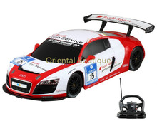 RASTAR 53610 10 1 18 Scale Authorized FOR Audi R8 LMS RC Racing Car with Steering