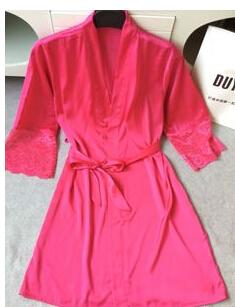 free shipping 2016 new arrival women's nightwear bathing robes fashion sleepwear for female high quality real silk M L XL XXL(China (Mainland))