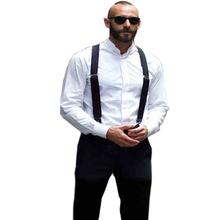 18 color Men's Suspenders men Braces Supports Elastic Adjustable Pants Mens Clothing Accessories - Hibro Store store