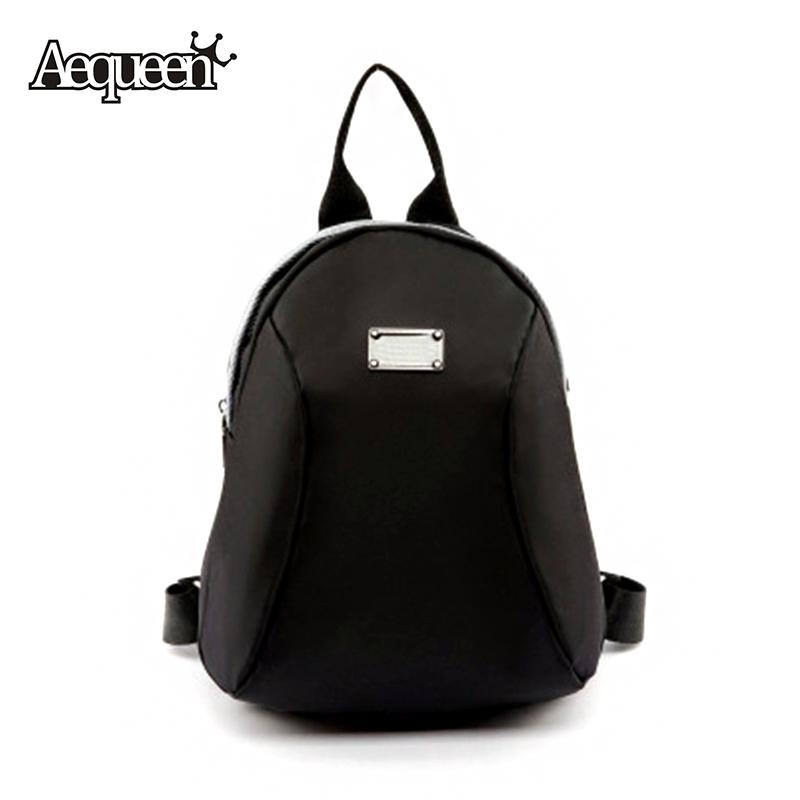 Waterproof Nylon Backpack Shoulder Bags Brand Design Korean Style Small Travel Pack Students School Bag Mochila Women Satchel(China (Mainland))