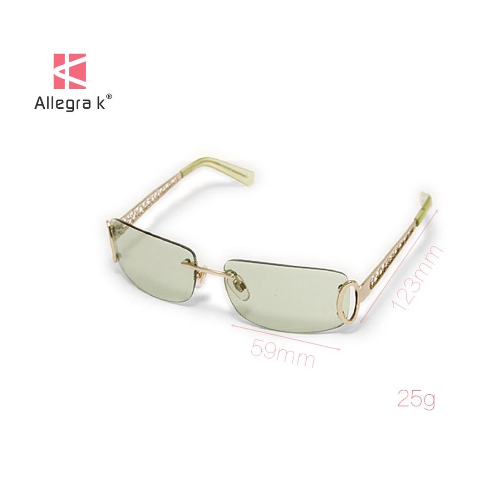 Unisex Adjustable Nose Pad Single Bridge Frameless Sunglasses Eye Wear Glasses Discount 50(China (Mainland))