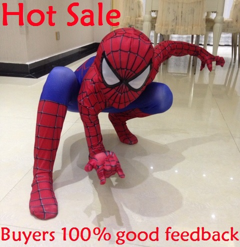 2015 NEW Spiderman costume kids superhero cosplay costumes child spider-man Halloween costumes spiderman quality assurance(China (Mainland))