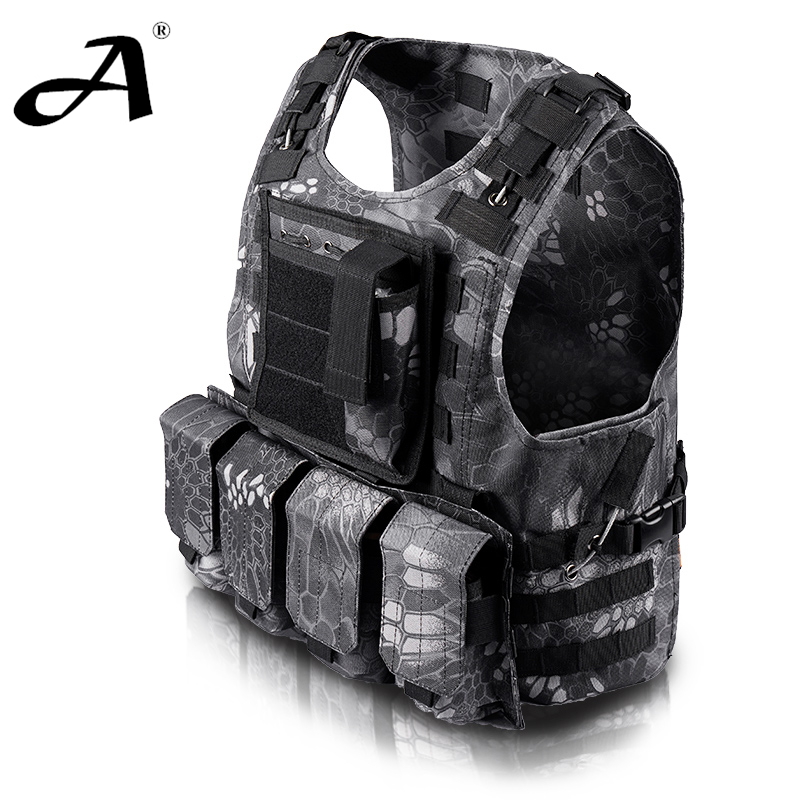 Aliexpress.com : Buy Airsoft tactical vest military ...