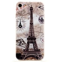 Mobile Phone Bag for iPhone 7 4.7 inch TPU Cover Shell 0.6mm Ultra-thin TPU Phone Cases for iPhone 7 4.7 inch – Eiffel Tower
