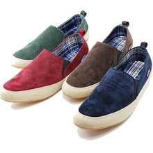 2016 Summer Flats Men Shoes Men Espadrilles Flats Shoes Men Canvas Shoes Loafers Slip On Casual shoes