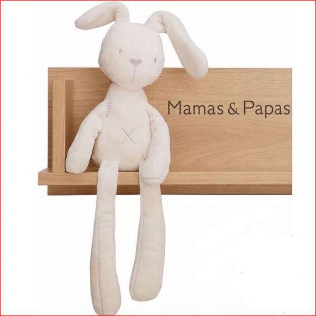 50 см Mamas & Papas ребенок кролик комфорт сна куклы плюшевые игрушки Мягкие Плюшевые Гладкий Послушный Кролик Спать Спокойно Кукла