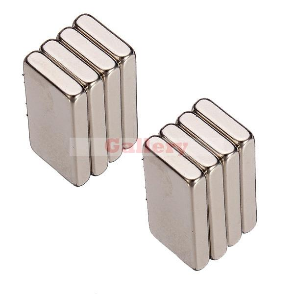 2015 Direct Selling Special Offer Neodymium Magnet 8 Pcs/lot _ 20mm X 10mm 3mm Blocks Neodymium Fridge Magnets N35 Craft Model <br><br>Aliexpress