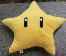 Hot Sale High quality Famous anime 5Pcs/Lot 23cM Super Mario stars Plush dolls Send children Good Christmas gift