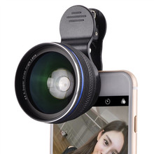 Buy Cell Phone Lens 0.45x 0.6X Super Wide Angle 12.5x Macro Lens iPhone 6 7 Plus 5S xiaomi 5 Samsung S6 S7 Edge Camera lens Kit for $15.99 in AliExpress store