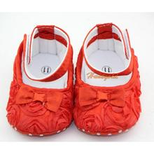 2015 New Lovely Newborn Infant Toddler Girl Baby Rose Style Soft Warm Princess Shoes Cack(China (Mainland))