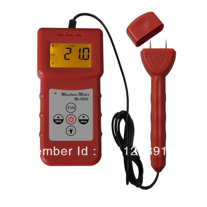 Здесь можно купить  MS7200+ Digital Paper Moisture Meter,Carton box Moisture Meter Professional  Инструменты