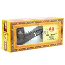 FS-9705 Classical Detachable Wooden Cigarette Tobacco Smoking Pipe