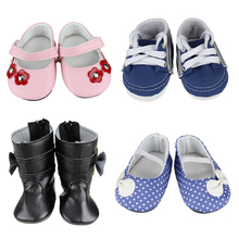 New Fashion Shoes For 18'' American Girl Doll 45cm Doll Accessories Shoes(China (Mainland))