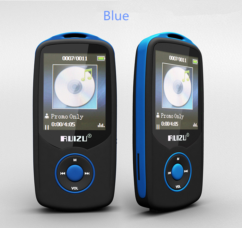 RUIZU X06 Sports Bluetooth MP3 Player Hifi Music with 4GB 1.8 inch Screen 100hours High Quality Lossless Voice Recorder FM(China (Mainland))