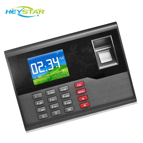 2.8'' Color Screen  Biometric Fingerprint Electronic Punch Time Clock Software HF-C120 ID Card+Fingerprint+USB