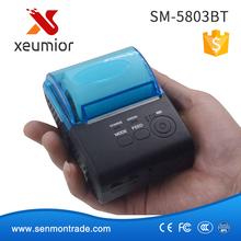 SM-5803BT: 58mm bluetooth printer thermal printer thermal receipt printer bluetooth android mini 58mm thermal bluetooth printer