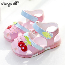 New Girls Sandals Children Sandals 2016 Summer  Kids Sandals Girls Princess Shoes Soft Bottom Casual girl sandals(China (Mainland))