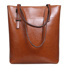 2016 Hot Designer Women Shoulder Bags High Quality PU Leather Oil Waxing Women's Casual Tote Bag for Ladies Handbag Bolsos Mujer