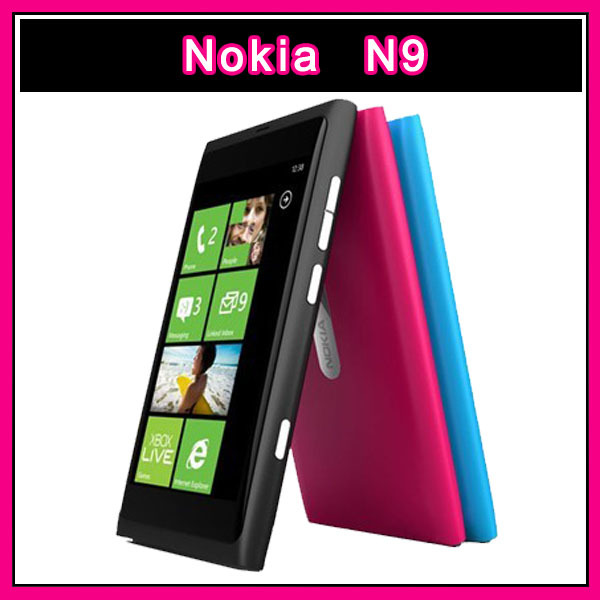 Original Unlocked Mobile Phone Nokia N9 3G WIFI 16GB Internal Storage 8MP Camera(China (Mainland))